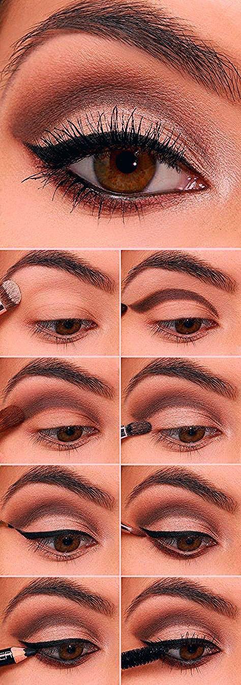 17 Super Basic Augen Make-up-Ideen für Anfänger – Hübsche Designs  Make-Up #makeup - makeup