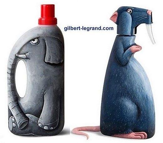 Les créations de Gilbert Legrand #recycledart