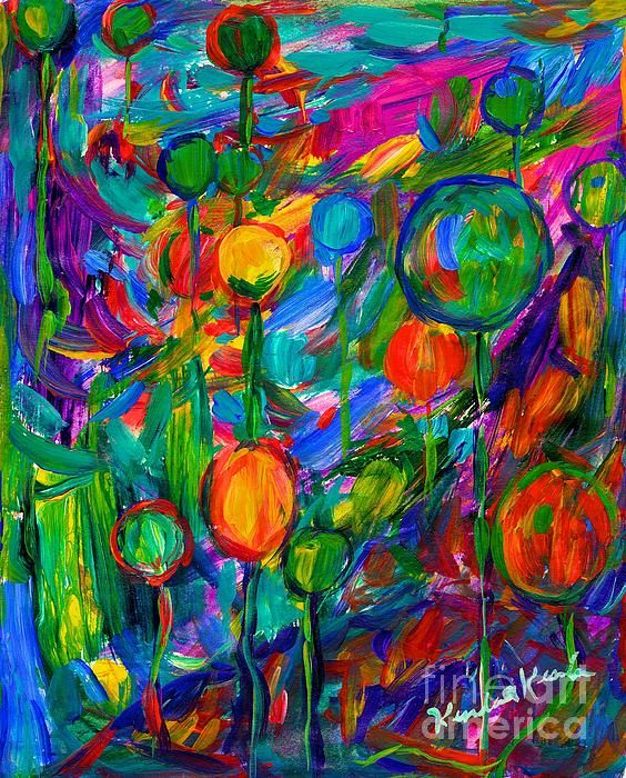 """Check out this vibrant fantasy balloon painting and more of my work at   http://kendall-kessler.artistwebsites.com/  I am an award-winning professional artist with work in 24 states, Canada, Russia, Germany, and Australia.  My best-selling print, """"Reaching Out"""", was selected out of over 3 million works of art on Fine Art America to be on The Mindy Project on FoxTV  Prints on paper or canvas in a variety of sizes are available on my websiteNone"""