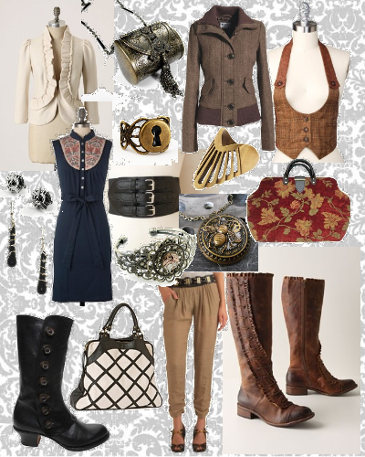 steampunk every day clothing