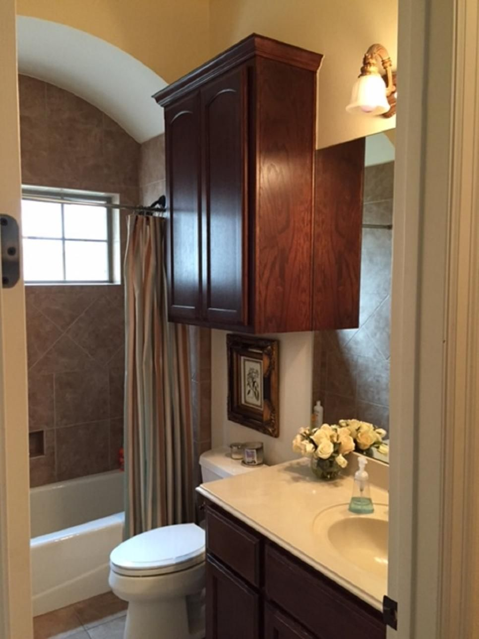 Image On Before and After Bathroom Remodels on a Budget