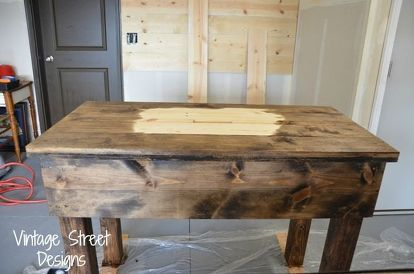 How To Make A Rustic Sink Base Rustic Sink Freestanding Kitchen Kitchen Sink Diy