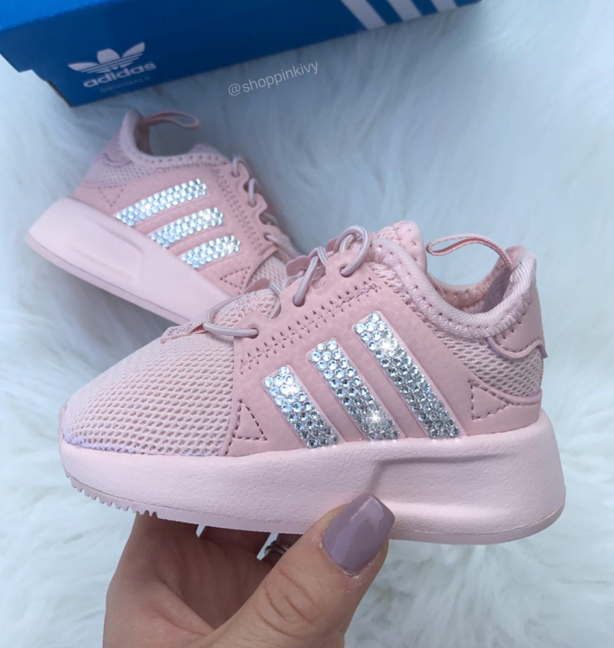 Crystal Adidas NMD sneaker for Kids | Cute baby shoes, Baby girl ...
