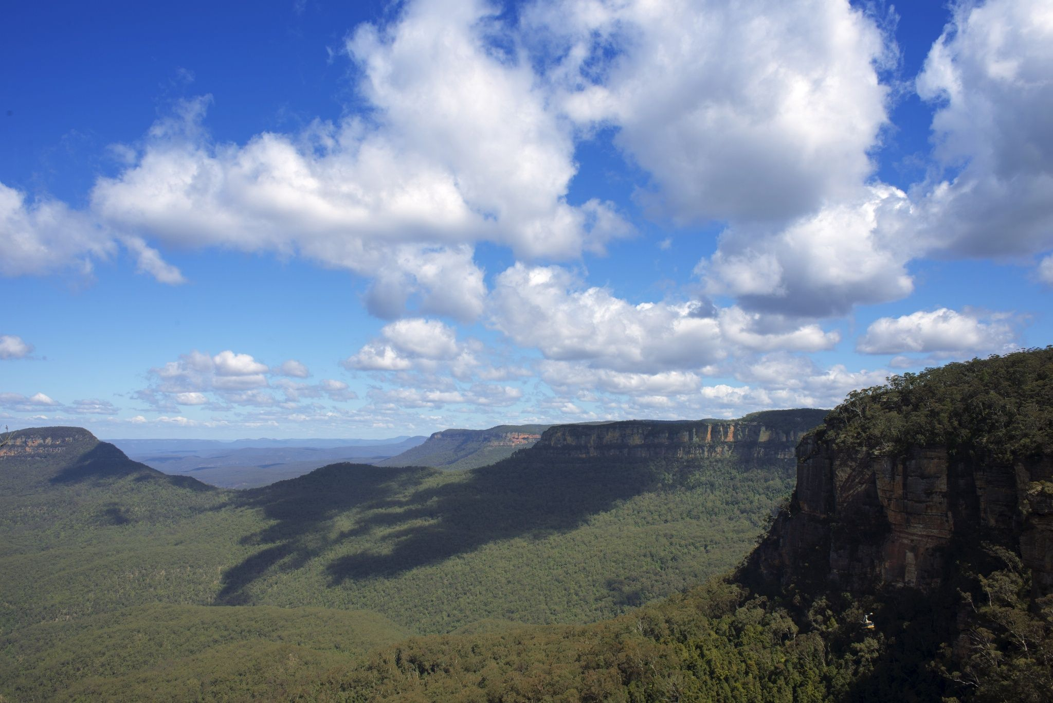 Scattered clouds over the Blue Mountains by Jay Rumph on 500px