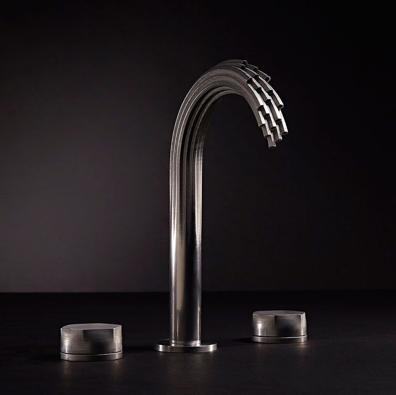 american standard splashes out \'DXV\' line of 3D printed metal ...