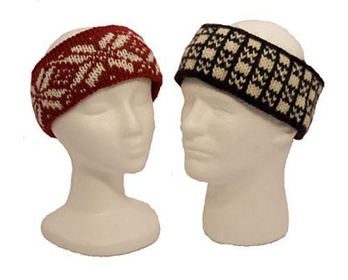 Easy Fair Isle Headbands Pattern By Diana Jordan Pinterest