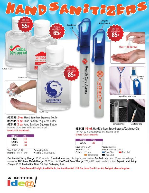 Clipper Hand Sanitizer Hand Sanitizer Quality Logo Products