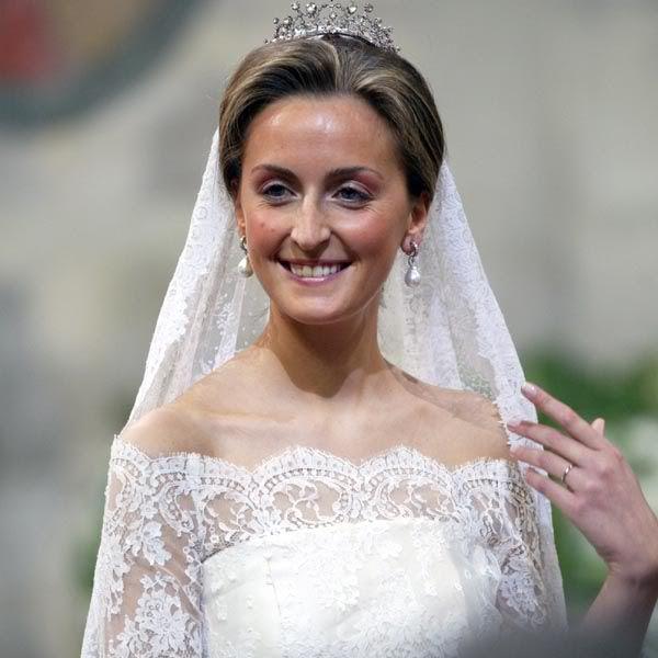 Princess Claire of Belgium | Vestidos novia | Pinterest | Belgica ...