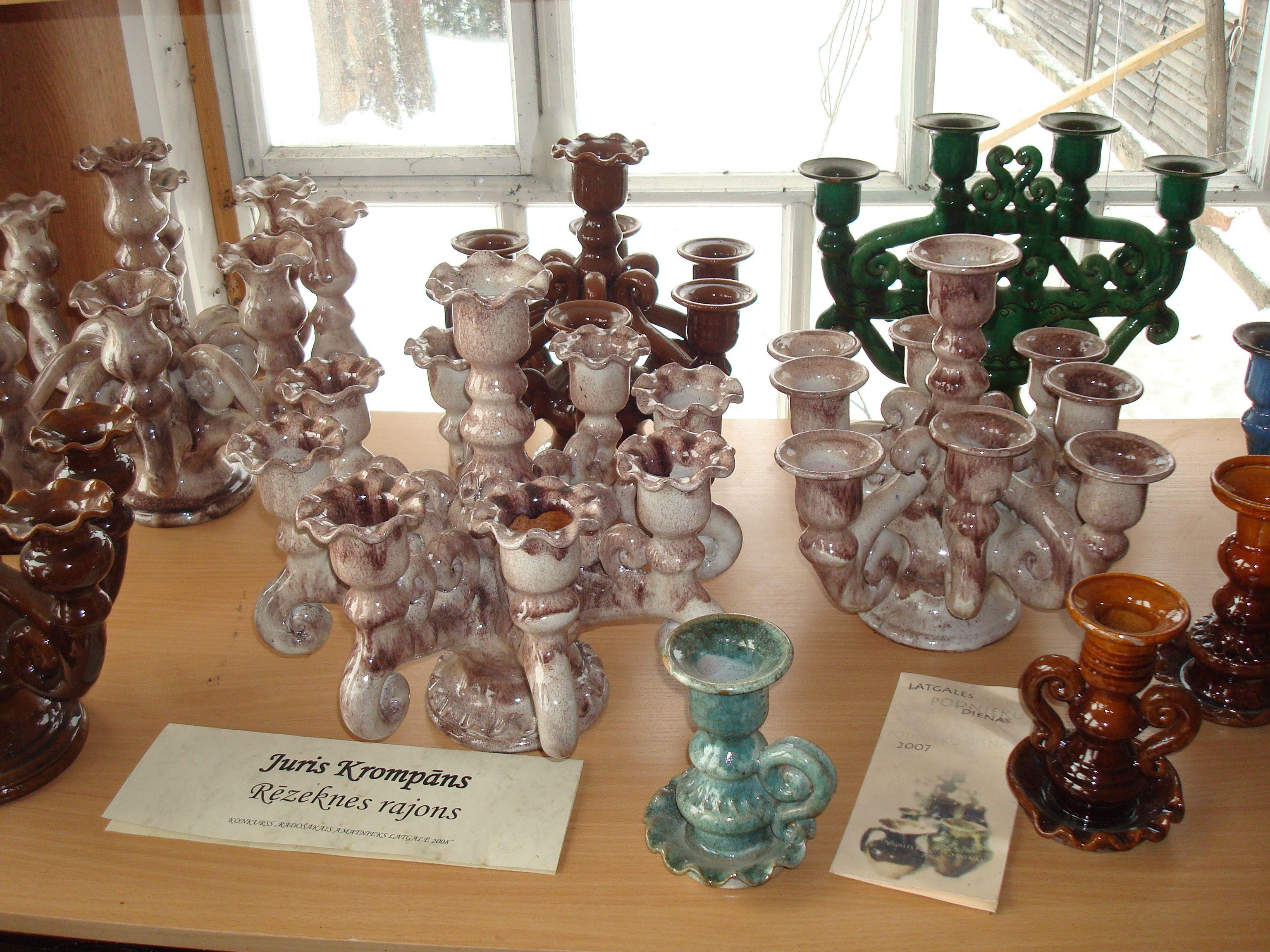 Latgales keramika Latgalian (Latvian) pottery, ceramics