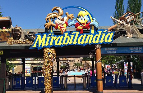 Mirabilandia consists of two main parts: a theme park and ...