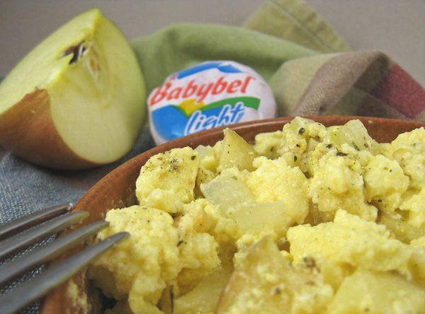 Quick Tasty Mini Babybel Cheese Le Egg Breakfast Mug Recipe