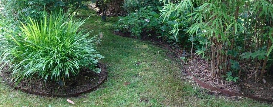 Bordure Volige En Acier Corten Tres Tendance Pour Votre Jardin