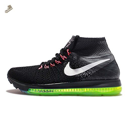 f6802723c1350 Nike Women's Wmns Zoom All Out Flyknit, BLACK/WHITE-COOL GREY, 5 US ...
