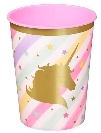 Unicorn Sparkle 12 Count Plastic Keepsake Party Cups Unicorn Party Cups Sparkle Birthday Party Sparkle Birthday
