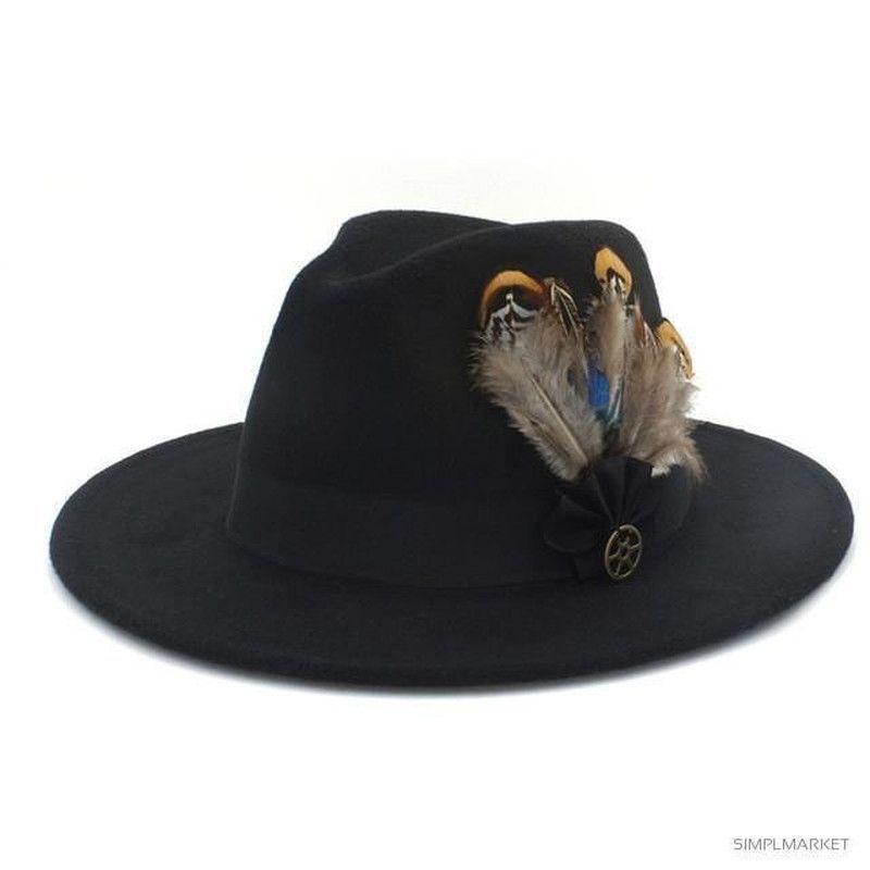 Feather Cashmere Fedora