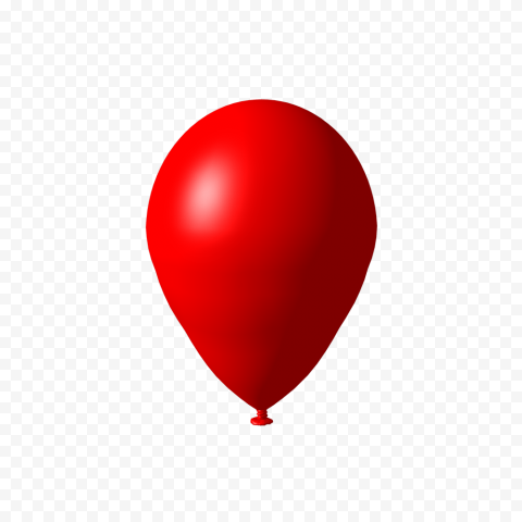 Hd Realistic Red Balloon Png Red Balloon Balloons Png