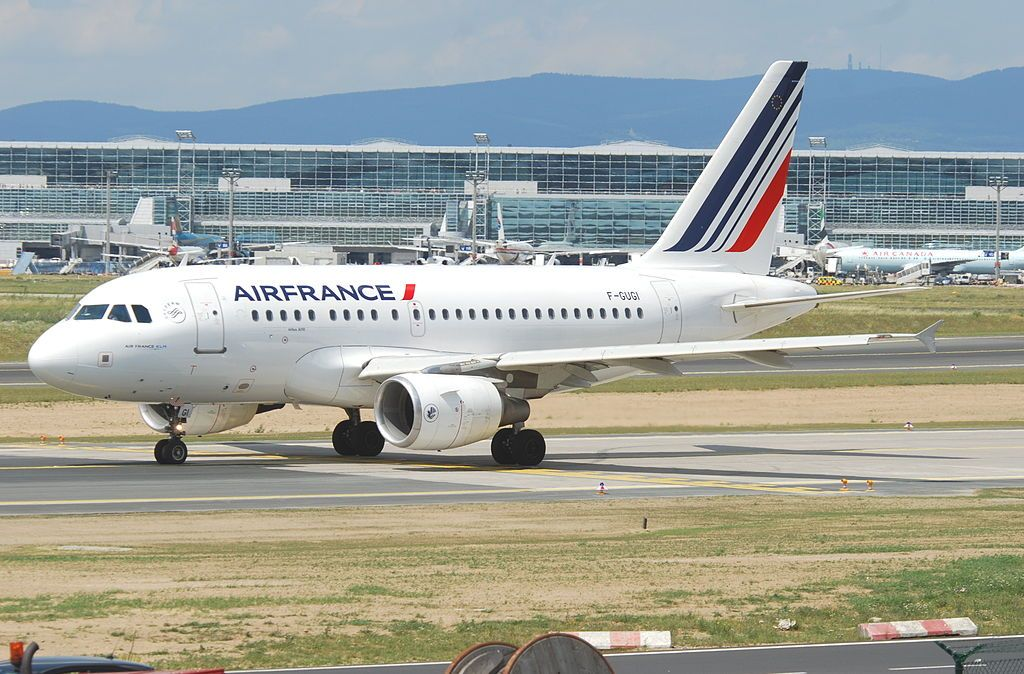 Air France Fleet Airbus A318100 Details and Pictures. Air