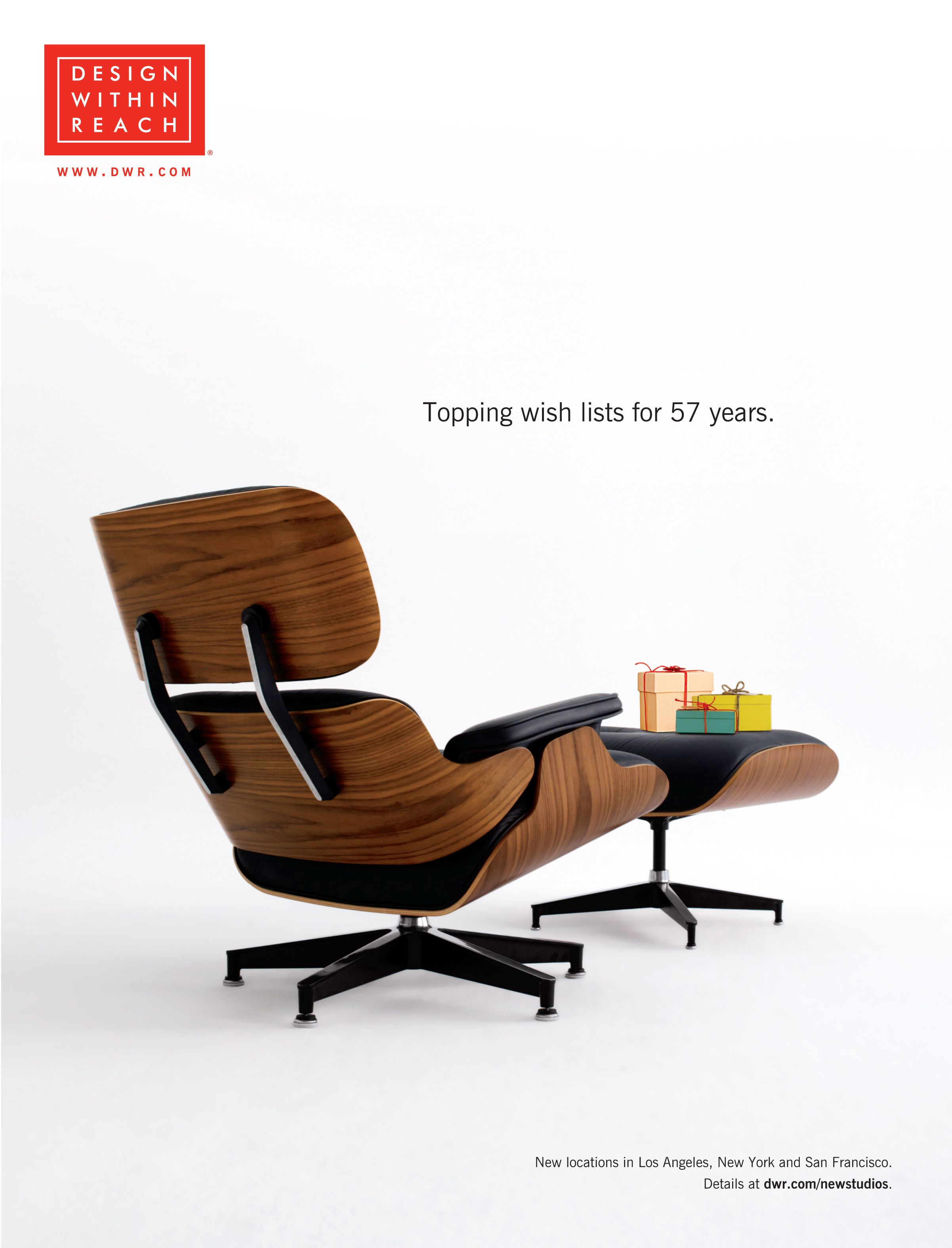 Superieur 2013 December DWR Catalog Cover Featuring The Beautiful Eames Lounge U0026  Ottoman.