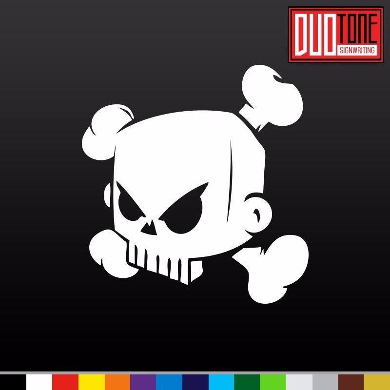 Hoonigan skull ken block 43 sticker decal vinyl car illest drift low tuner dub