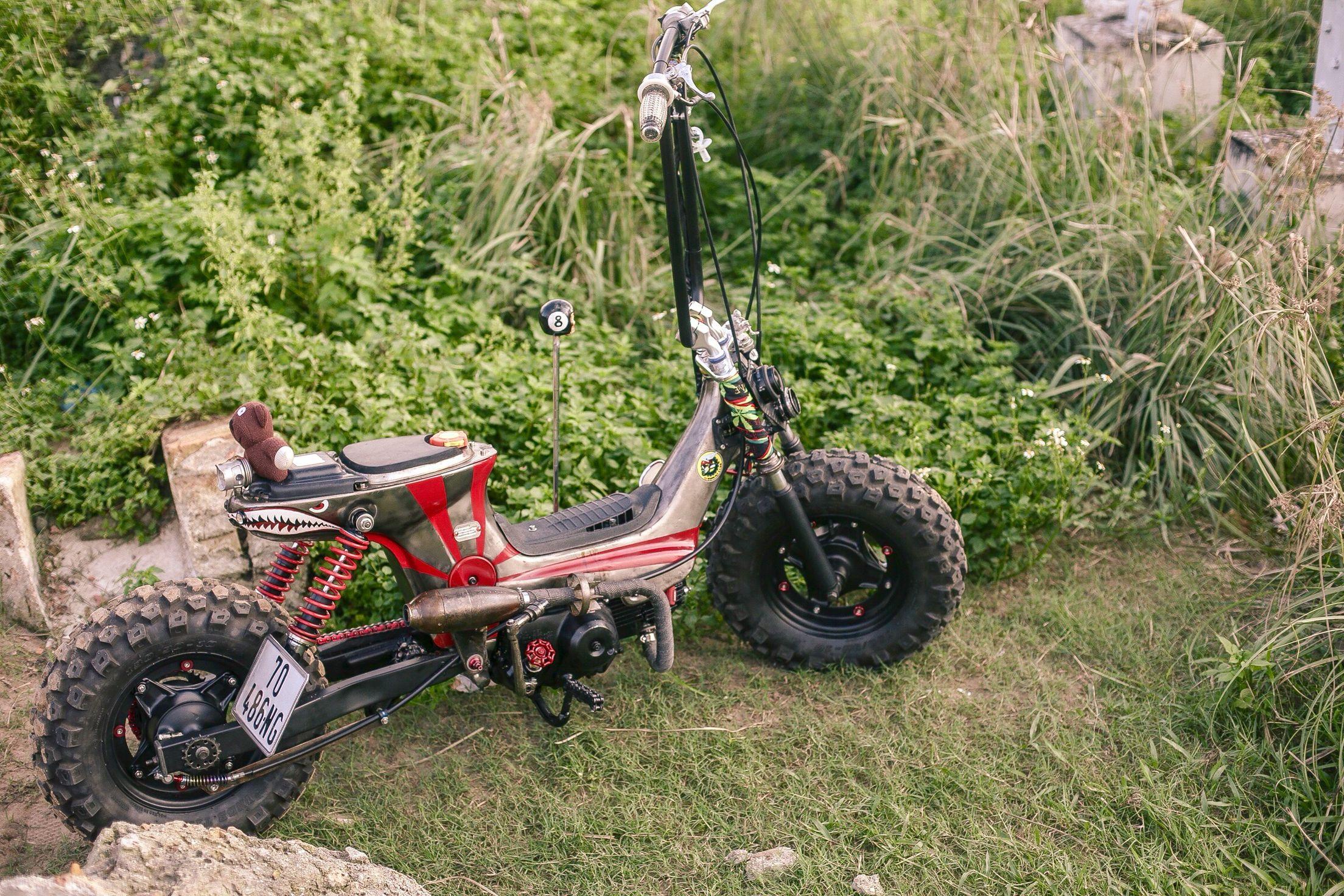 Honda Chaly Bobber #Vietnam   Scooter, Moped