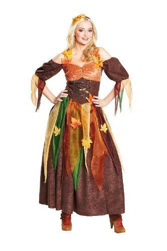 Karneval Damen Kostum Herbst Fee Hexe An Fasching Grosse 42