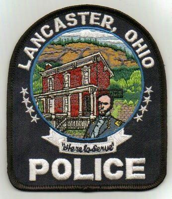 LANCASTER OHIO POLICE PATCH