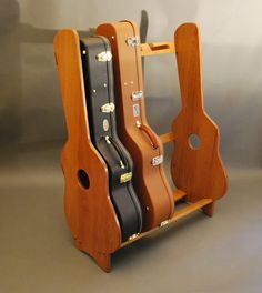 Guitar Cse Rack Guitar Rack 2 Of 3 Woodworking