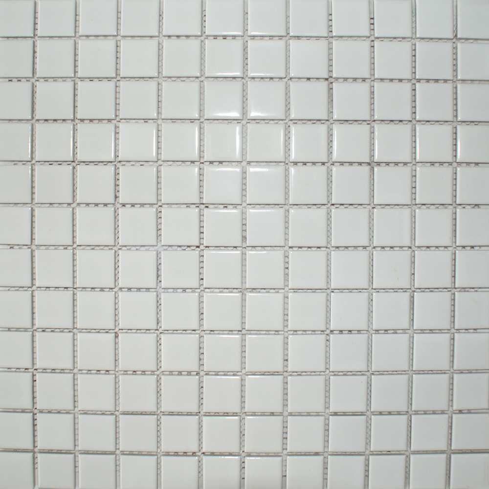 Gloss white square small tile description a smooth white mosaic gloss white square small tile description a smooth white mosaic tile in a gloss finish dailygadgetfo Choice Image