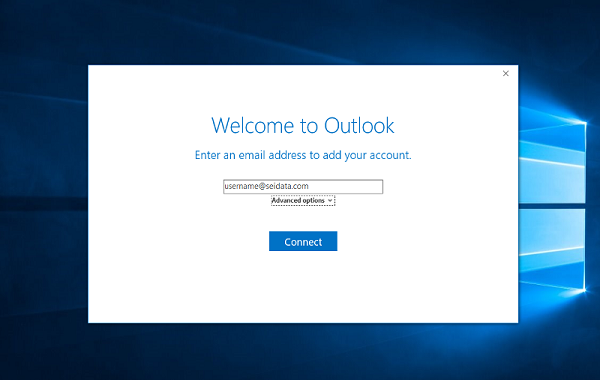 How To Add Email Accounts To Outlook Blog Writing Email Account Remember Password