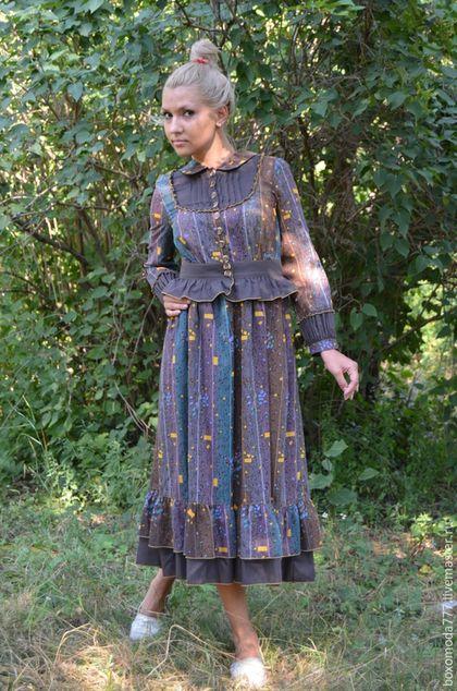 37fb1d795ba24 Платья ручной работы. Ярмарка Мастеров - ручная работа. Купить платье стиль  бохо handmade Батист
