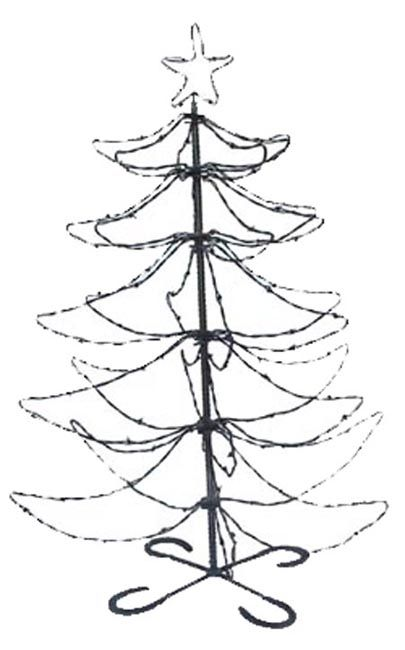 600 Barbed Wire Christmas Tree Barbed Wire Decor Horse Gifts How To Make Christmas Tree