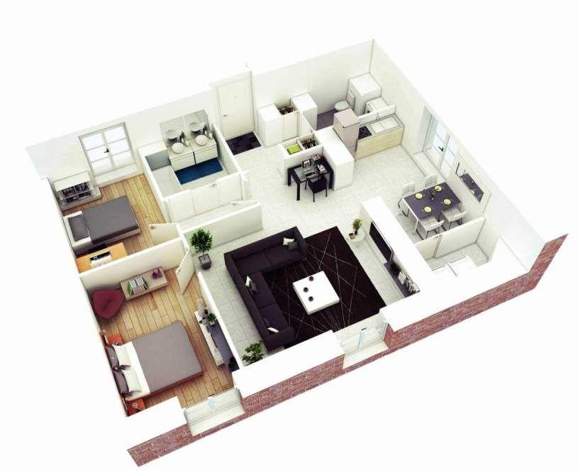 Gambar Model Rumah Cantik 52 best denah rumah minimalis images house plans house