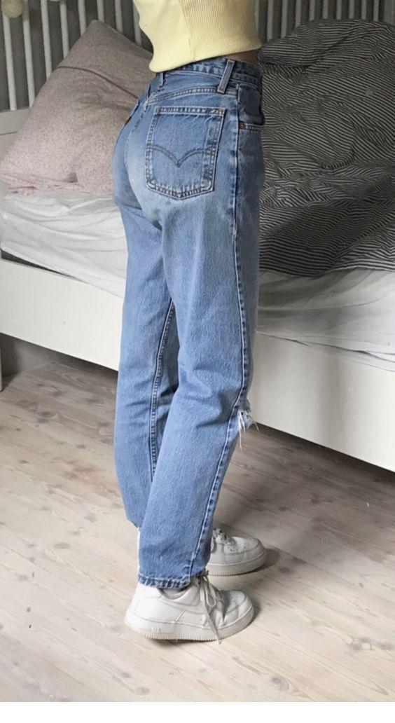 Photo of #Damen #fü… #Jeans #für Retro Jeans für Zuhause Inspirierende Damen – How…