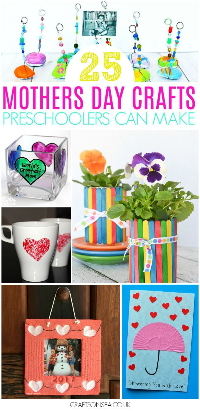 mothers day crafts for preschoolers card ideas craft and