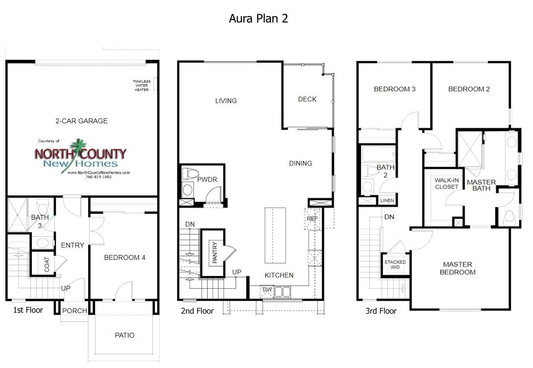 New townhomes in mira mesa san diego new homes aura floor plan 2 new townhomes in mira mesa san diego new homes aura floor plan 2 malvernweather Choice Image