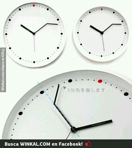 Para no llegar tarde