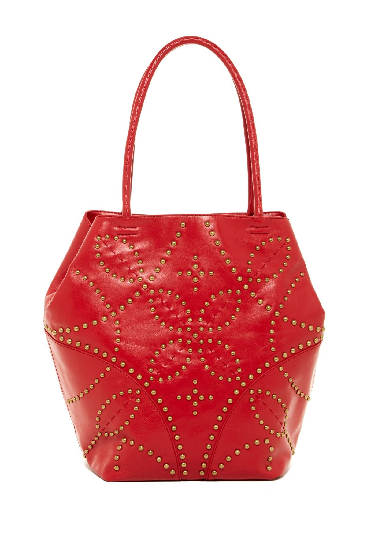 60ba35f6b8 Sophia Leather Tote by Isabella Fiore on @HauteLook | Ooh Bags ...