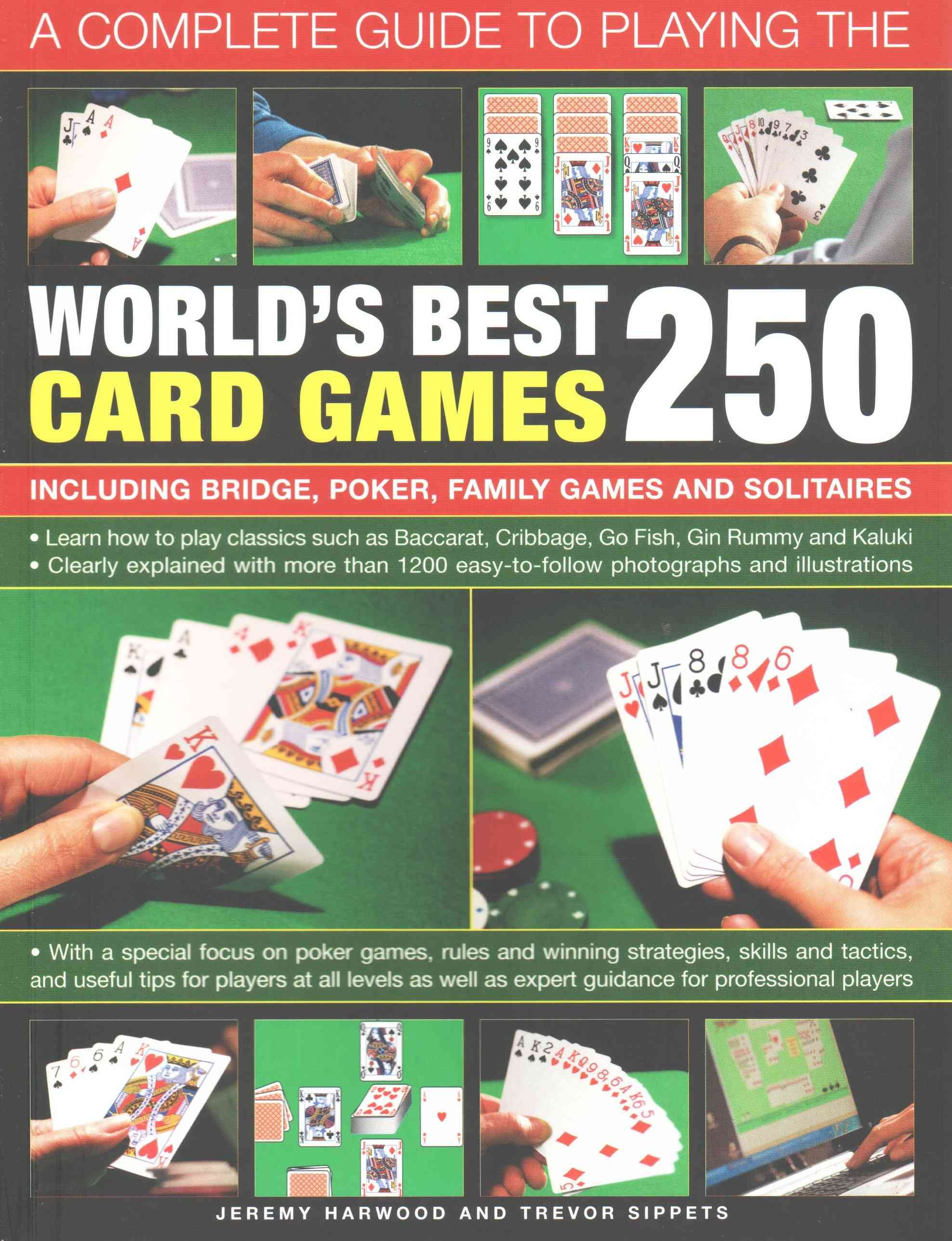 Learn how to play classics such as baccarat, cribbage, go
