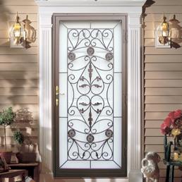 Ornamental Storm Doors Ornamental Security Storm Doors by