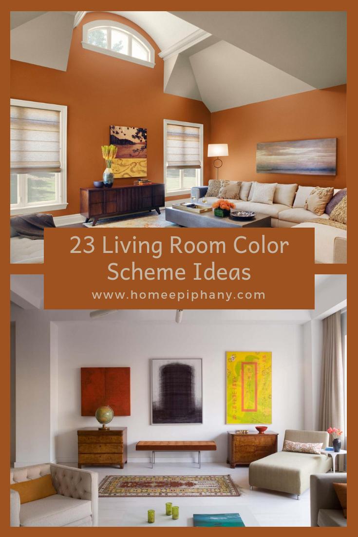 23 Living Room Color Scheme Ideas   Living room color ...