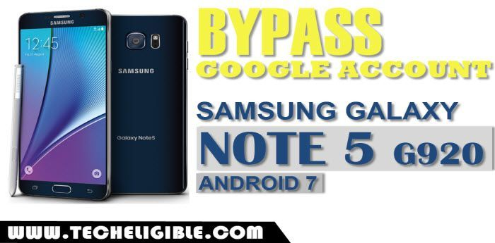 Bypass FRP Samsung Galaxy NOTE 5 G920 Without PC [Android