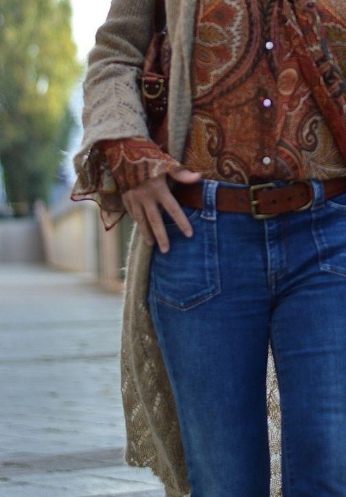 Hippie Herbst am Happy Fashion Friday