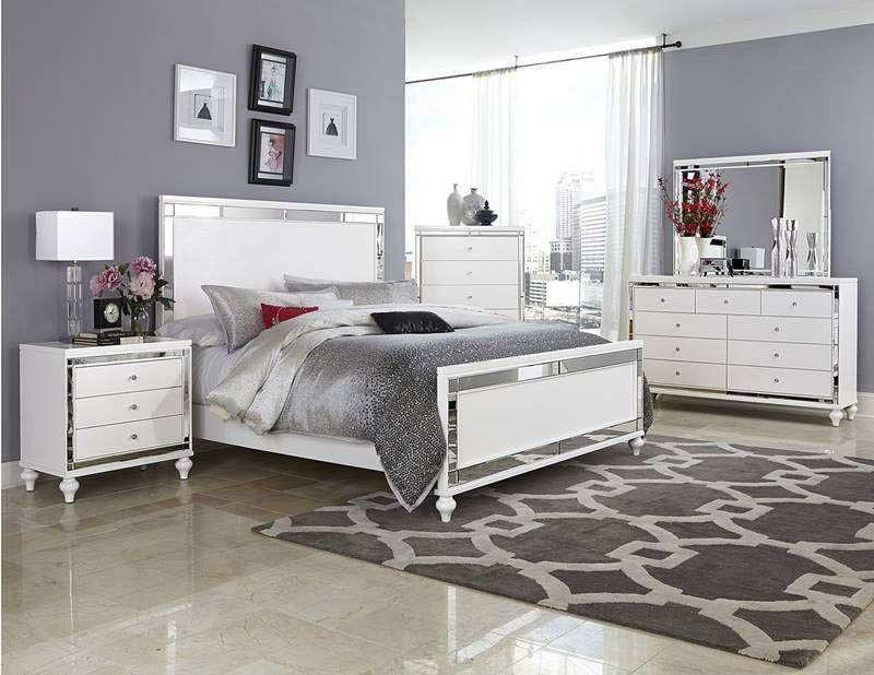 Homelegance - Alonza 5 Piece Eastern King Bedroom Set - 1845K-1EK-5