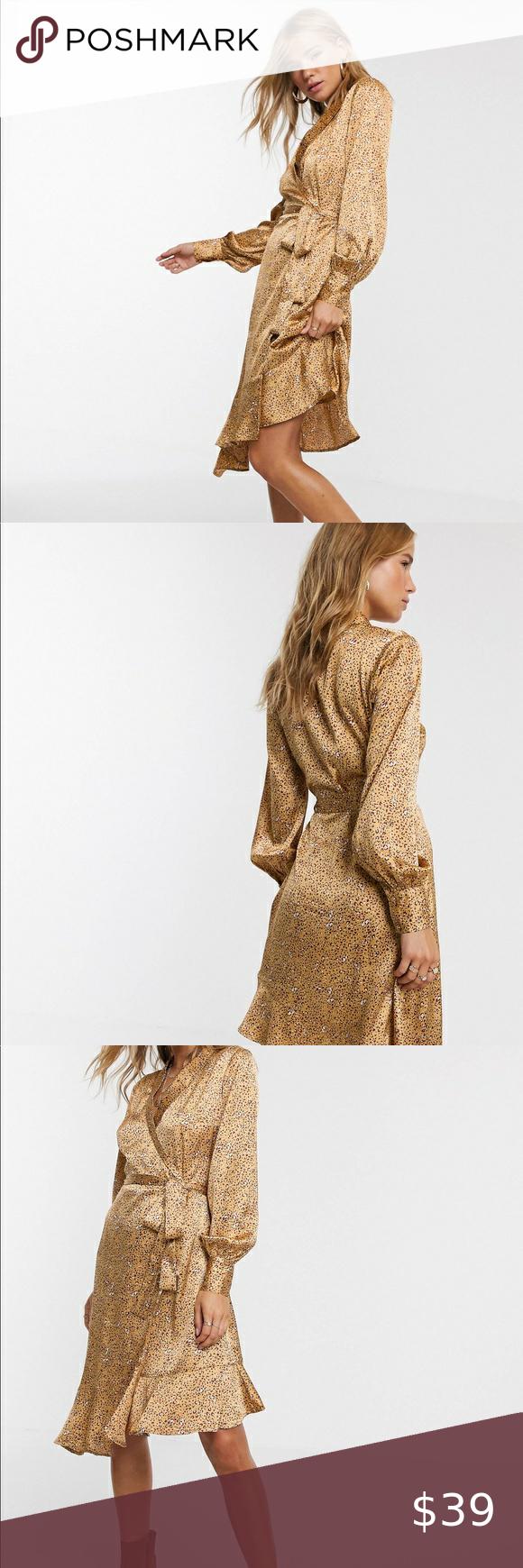 19+ Asos leopard print wrap dress trends