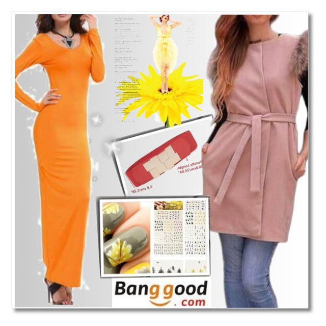 """Banggood II/9"" by malasirena989 ❤ liked on Polyvore featuring women's clothing, women, female, woman, misses and juniors"
