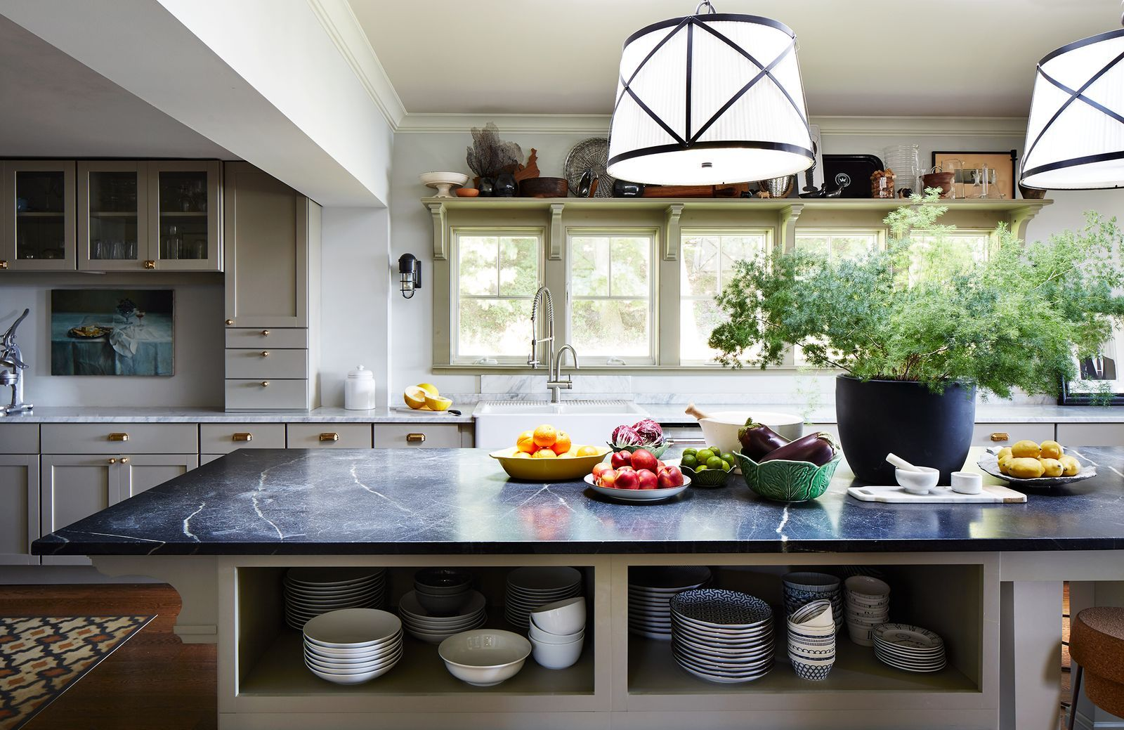 50 Ways To Upgrade Your Kitchen Island - Unique kitchen, Open kitchen shelves, Kitchen storage, Kitchen design, Cool kitchens, Kitchen cupboards - Yes  There are that many things you can do with them