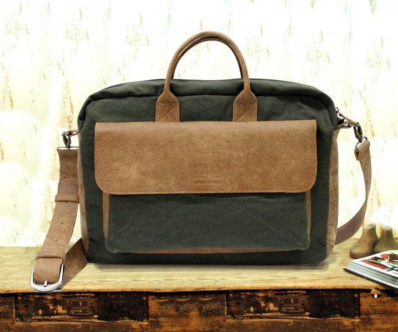 Check out Sale!!! mens messenger laptop bag, laptop bags for women messenger bag men messenger bag laptop Canvas and Leather Laptop Messenger 13 15.6 on plgdesigns