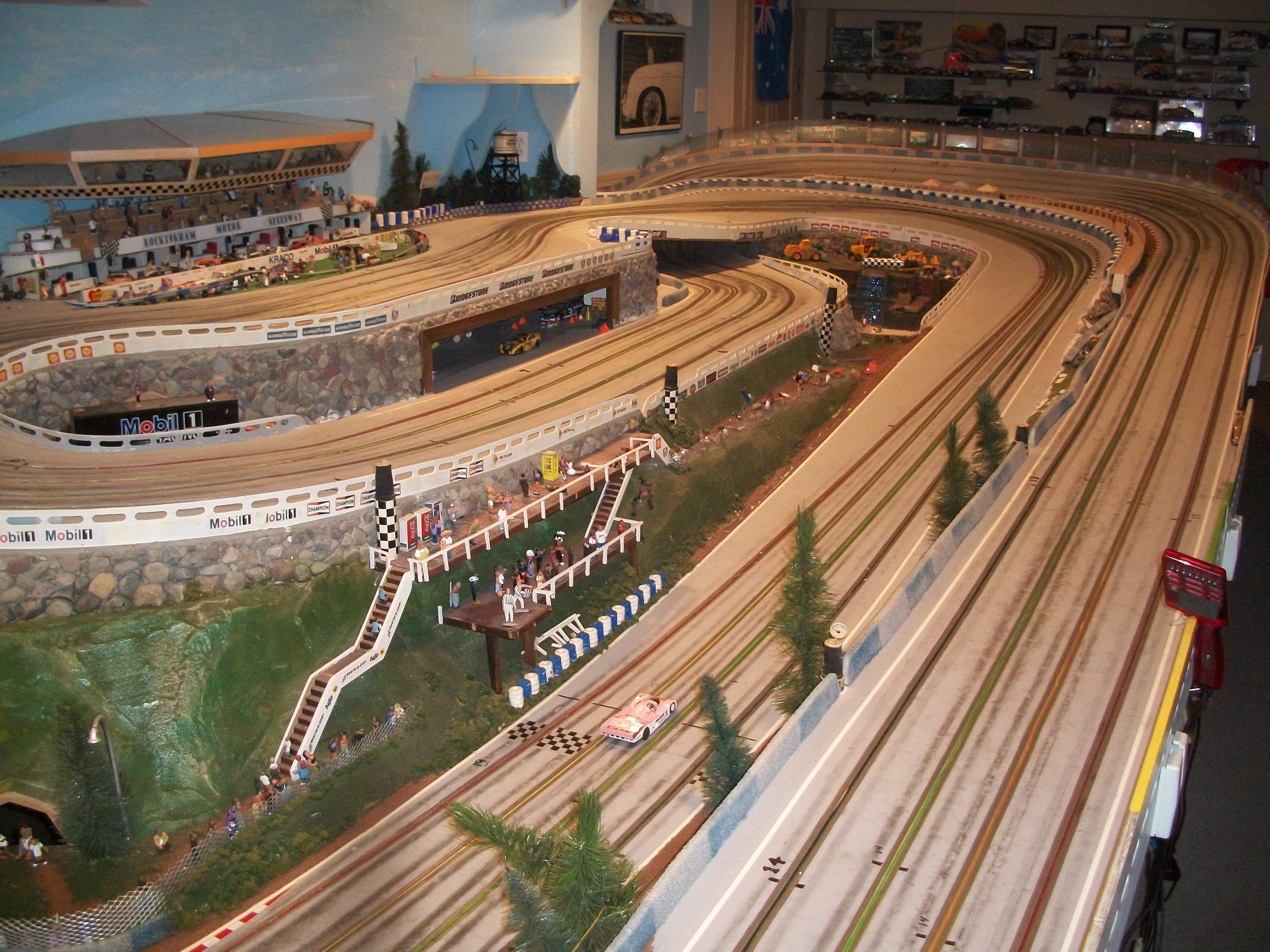 1 24 slot car tracks how to build spinning stars slot