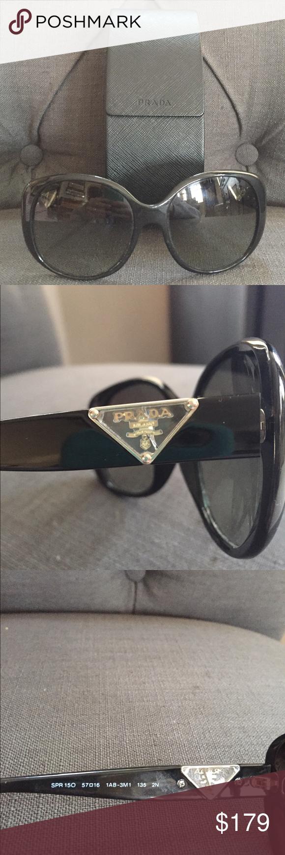 7ea7ac8eaf ... where can i buy used 100 authentic prada sunglasses awesome 100  authentic used prada oversized sunglasses