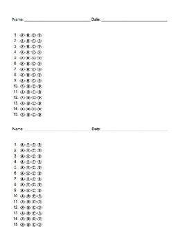 image about Printable Scantron Sheet Pdf named Blank Many Conclusion Bubble Sheet Remedy Data files